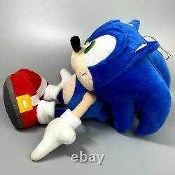 Veryrare 2003 Sonic X Super Jumbo Plush Poupée Sega Sonic Le Hedgehog 14 Limitée
