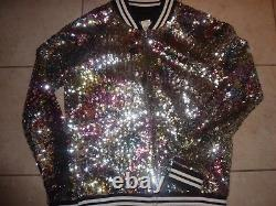 Victorias Secret Pink Very Rare Bling Fashion Show Limited Edition Veste Nwt