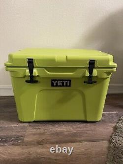 Yeti Tundra 35 Chartreuse Edition Limitée Très Rare