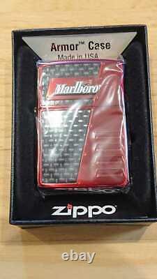 Zippo Lighter Marlboro Racing Team Limited 200 F1 Armor Case Vintage Très Rare