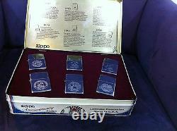 Zippo Très Rare Édition Limitée 1932 1992 Anniversary Edition Collector Series