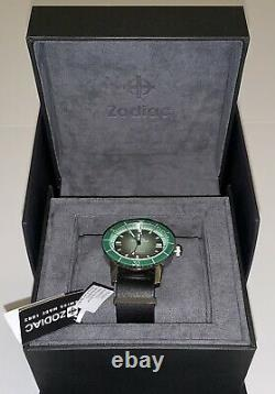 Zodiac Edition Limitée Super Sea Wolf 53 Compression Automatique Z09278 Très Rare