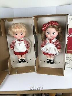 (très Rare) 17 Pouces Campbell Kids Limited Edition Par World Doll Boxes 1 Étiquette